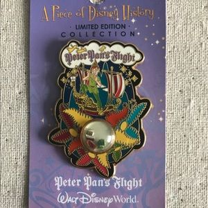 Disney Pin PODH Peter Pan's Flight LE